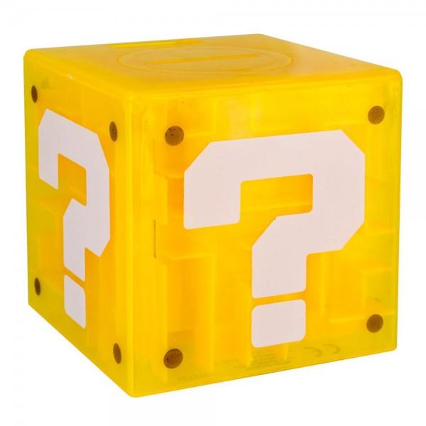 Super Mario Labyrinth Spiel / Spardose mit Super Mario Figur