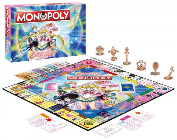 Sailor Moon Brettspiel Monopoly