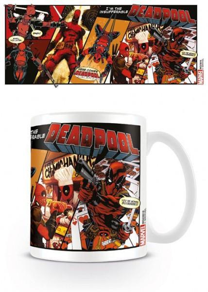 Deadpool Tasse Comic Insufferable
