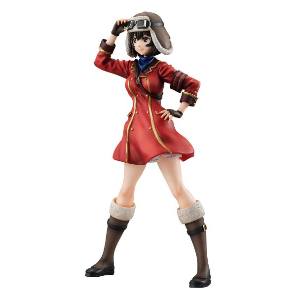 The Kotobuki Squadron in The Wilderness Gals PVC Statue Kylie