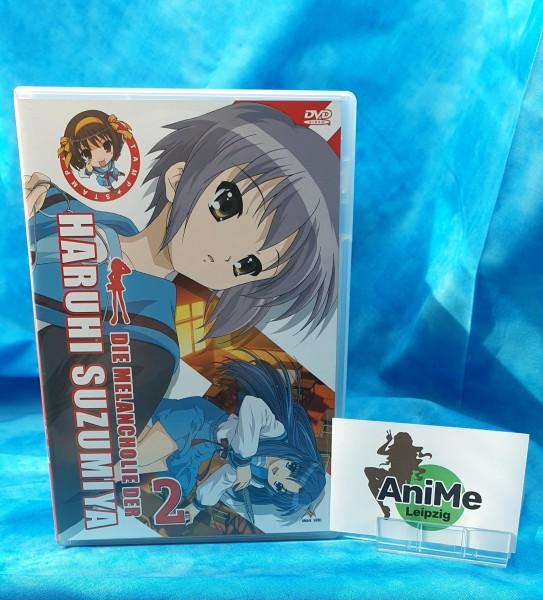 Die Melancholie der Haruhi Suzumiya - Vol. 2 DVD